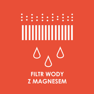 Filtr wody z magnesem