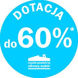 Dotacja do 60%
